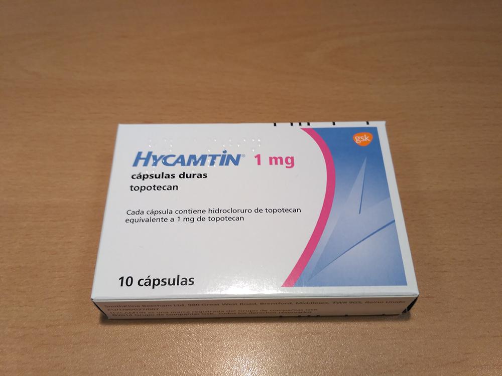 Topotecan (Hycamtin)
