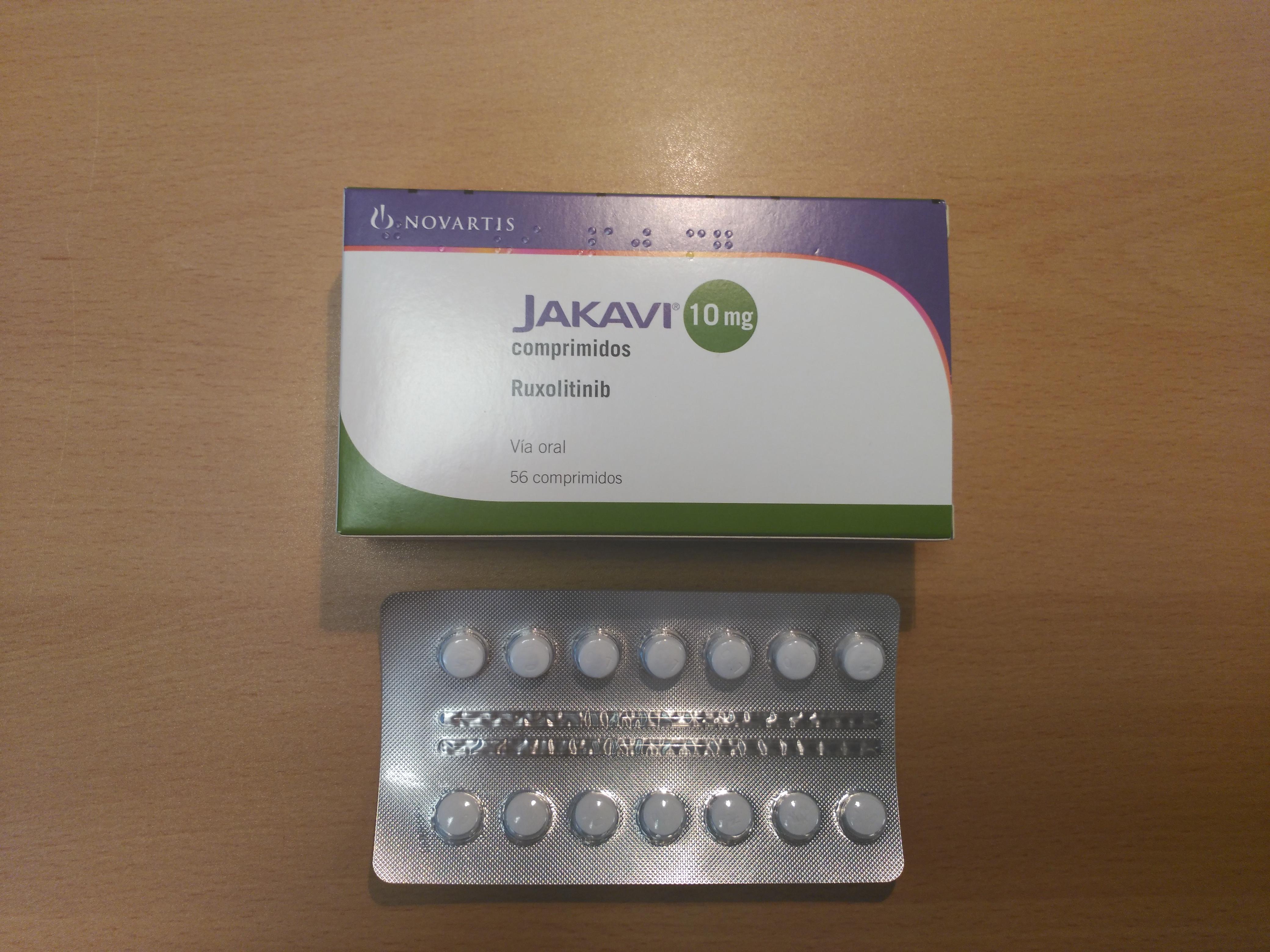 jakavi-ruxolitinib